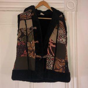 Jackets & Blazers - Patchwork Vest